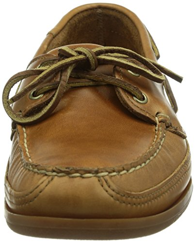 Sebago 5 Leather Boat Cognac Schooner 8 W Shoe Men's pxqzwrFnfp