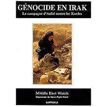 En Irak: la Campagne d'Anfal Contre les Kurdes