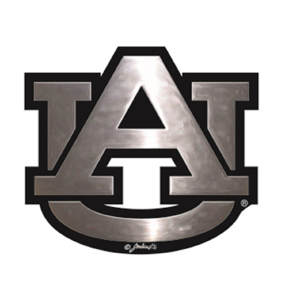 Jenkins Enterprises Auburn Tigers Silver Tone Auto Emblem