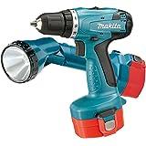 Makita 6281DWALE Akku-Bohrschrauber 14,4 V + Akku-Lampe, 2 Akkus und Ladegerät