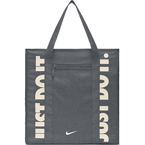 NIKE Gym Women's Training Tote Bag, Cool Grey/Cool Grey/Guav