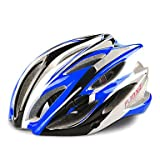 QHY FJQXZ 23 Vents EPS+PC Blue Integrally-molded Cycling Helmet(58-63CM)