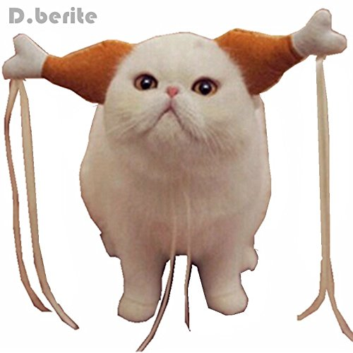 ArMordy(TM) Turkey Chicken Drumstick Headband Dog Chicken Leg Hoop party Funny Props Cat Headdress Lovely Accessories Costumes FMD7020