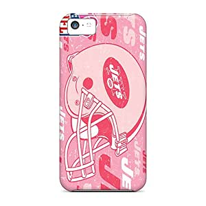 5c Scratch-proof Protection Case Cover For Iphone/ Hot New York Jets Phone Case