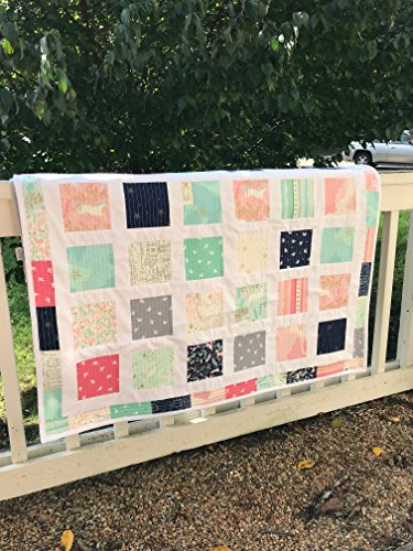 Mermaid Quilt - Unicorn Quilt - Baby Quilt - Toddler Bedding - Homemade Baby Quilt - Baby Blanket - Heirloom Quilt - Modern Baby Quilt by The Little Quilt Co.