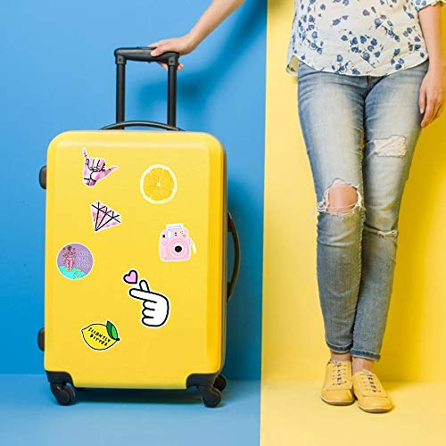 Sunvito Stickers for Water Bottles, Cute Stickers for Teens Girls, Laptop Stickers for Guitar Phone Luggage, 103 PCS