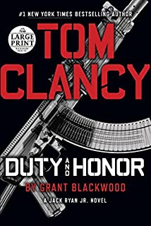 Book Cover: Tom Clancy Duty and Honor