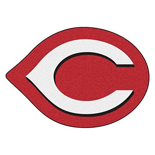 FANMATS MLB Cincinnati Reds Mascot Mat, Team Color, One Size