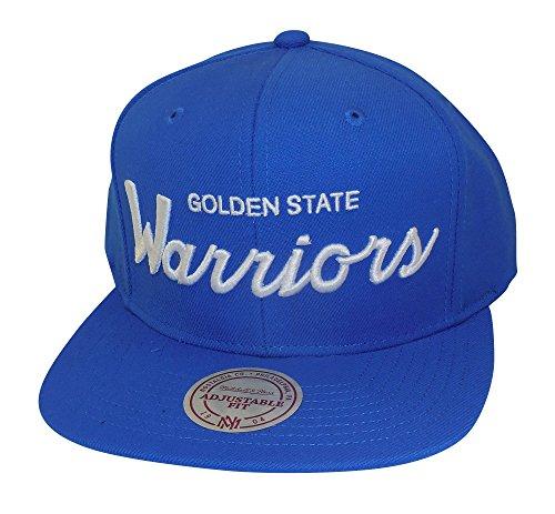 Golden State Warriors NBA Mitchell & Ness Custom Team Logo Adjustable Snapback (Golden State Warriors Custom Jersey)