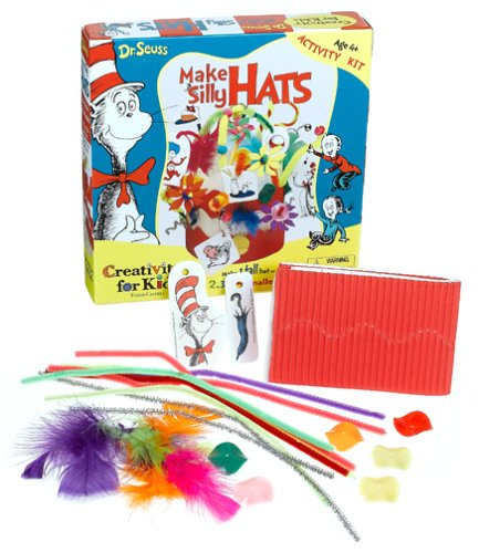 Creativity for Kids Dr. Seuss-Make a Silly Hat