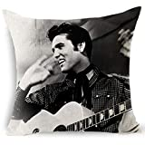 Fashion Accessories Rock and Roll Creative Pillowcases Elvis Presley Pillow Cover Cool Cushion Cover Pillowcases Home Decor Home Supplies Wall Art (8)
