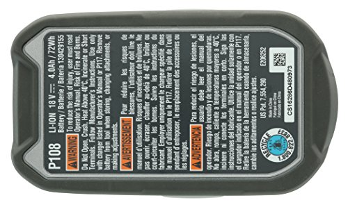 Ryobi P122 4AH One+ High Capacity Lithium Ion Batteries For Ryobi Power Tools (2 Pack of P108 Batteries) by Ryobi (Image #8)