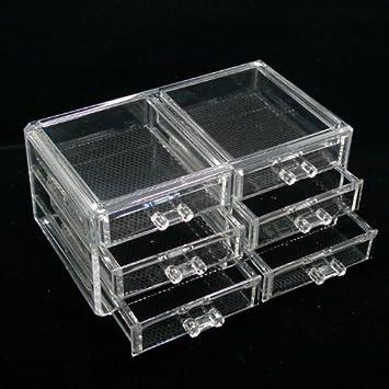 Luxury Acrylic Cosmetic Organizer Makeup Box