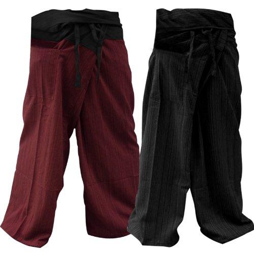 2PACK-[2P005] Thai Fisherman Pants Yoga Trousers Thailand