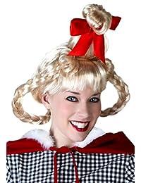 Fun Costumes Christmas Girl Wig