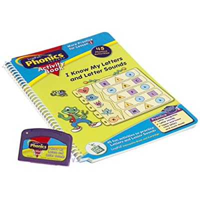 LeapPad Phonics Activity Book: #1: I Know My Letters and Letter Sounds: Office Products