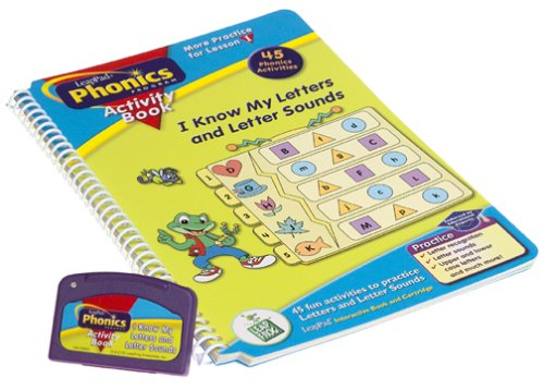 LeapPad Phonics Activity Book: #1: I Know My Letters and Letter Sounds
