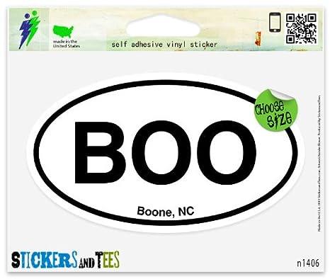 Amazon.com: Boo Boone NC North Carolina Pegatina de Ventana ...
