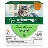 Bayer Advantage II Flea Treatment for Small Cats - 5-9 lb - 4 doses