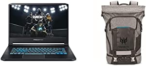 Acer Predator Triton 500 PT515-52-71K5 Gaming Laptop with Predator Rolltop Gaming Backpack