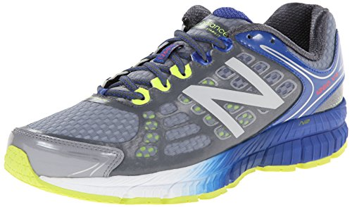 New Balance Men's M1260V4 Stability Running Shoe, Grey/Blue, 9 D US Nbx Stability Running Shoe