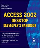 Access 2002 Desktop Developer's Handbook, Paul Litwin and Ken Getz, 0782140092
