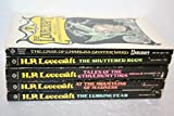 H.P. Lovecraft collection of 5-Titles(Tales of the Cthulhu Mythos/At the Mountains of Madness/The Lurking Fear/The Shuttered Room/The Case of Charles Dexter Ward)