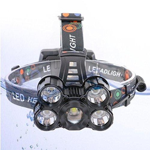 Glighone Lampe Frontale Led Rechargeable Torche Super Puissante