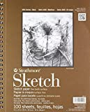 #6: Strathmore Series 400 Sketch Pads 9 in. x 12 in. - pad of 100