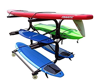 Six-vessel Kayak, Sup, & Canoe Rack