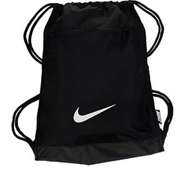NIKE Alpha Adapt Team Training Drawstring Gymsack Backpack 600 Denier Sport  Bookbag (Classic Black  01ba680a0eca0