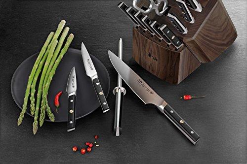 Cangshan TC Series 1021455 Swedish Sandvik 14C28N Steel Forged 17-Piece Knife Block Set, Walnut by Cangshan (Image #6)