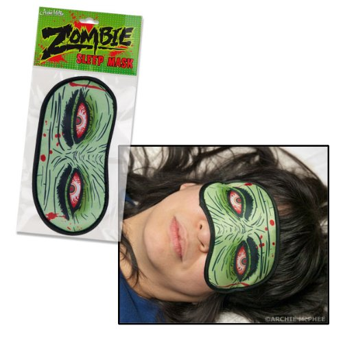Zombie Eyes Undead Novelty Sleep
