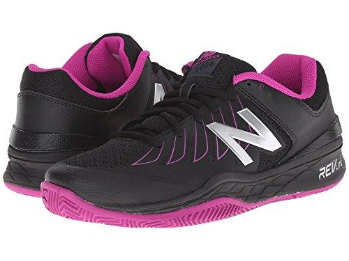 カバースポーツの試合を担当している人音楽家(ニューバランス) New Balance レディーステニスシューズ?スニーカー?靴 WC1006v1 Black/Pink 8.5 (25.5cm) 2A - Narrow