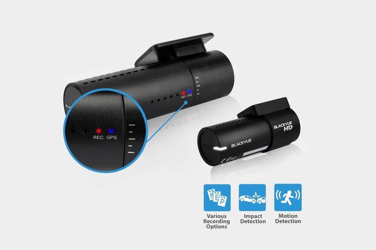 BlackVue New DR470-2CH 16GB, Car Black Box/Car DVR Recorder, Full HD, G Sensor, 16GB SD Card Included, upto 128GB support