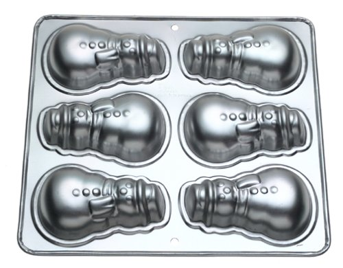 Wilton Aluminum Mini Snowman Pan for sale  Delivered anywhere in USA