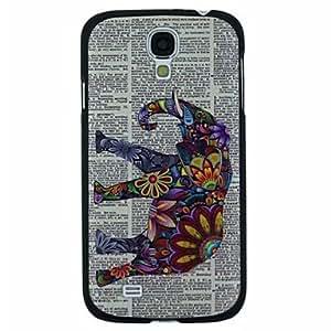 WQQ Teléfono Móvil Samsung - Cobertor Posterior - Diseño Especial - para Samsung S4 I9500 ( Multi-color , Plástico )