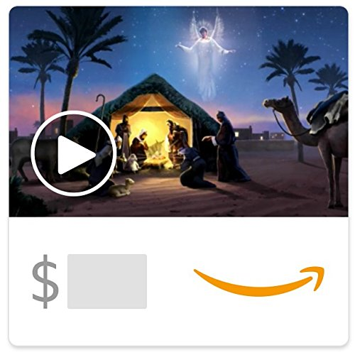Amazon eGift Card - Christmas Blessings (Animated)