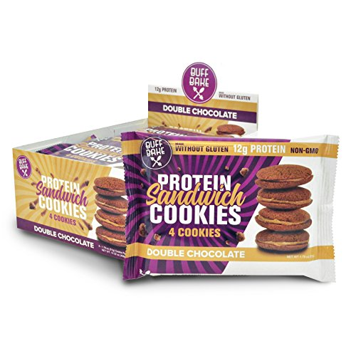 Sandwich Cookie - Double Chocolate 8 pack 51g - UPC - Gluten Free, Non GMO
