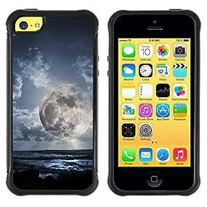 Suave TPU Caso Carcasa de Caucho Funda para Apple Iphone 5C / Space Planet Galaxy Stars 49 / STRONG