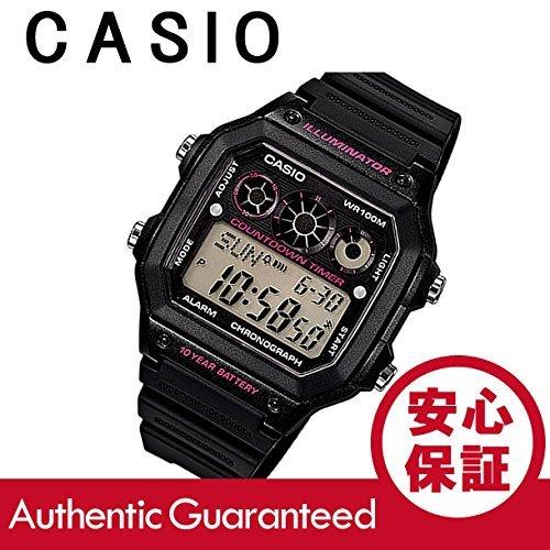 Ae1300Wh-1A2 Casio/barato / Ae1300Wh-1A2 deportivo Digital × negro rosa hombres/reloj Unisex: Amazon.es: Relojes