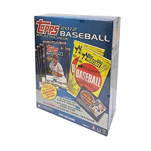 2012 Topps Baseball Value Box