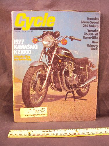 1977 77 February CYCLE Magazine (Features: Road Test for sale  Delivered anywhere in USA