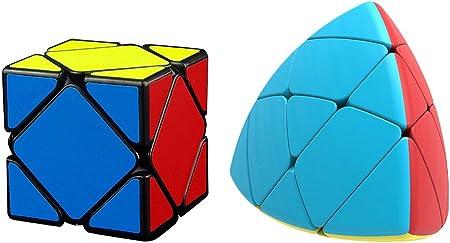 IndiaBuy Rubiks Cube - Skewb, Mastermorphix Combo of 2 (IBTG0096)