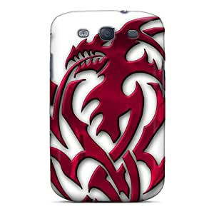 Shock-dirt Proof Tribal Dragon Case Cover For Galaxy S3
