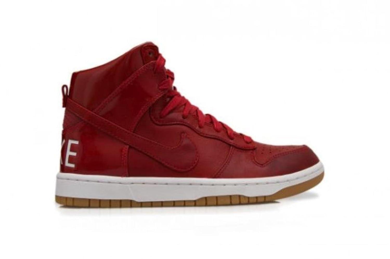 Da Uomo Nike Dunk Lux SP 718790 661da palestra scarpe da ginnastica Rosso Bianco