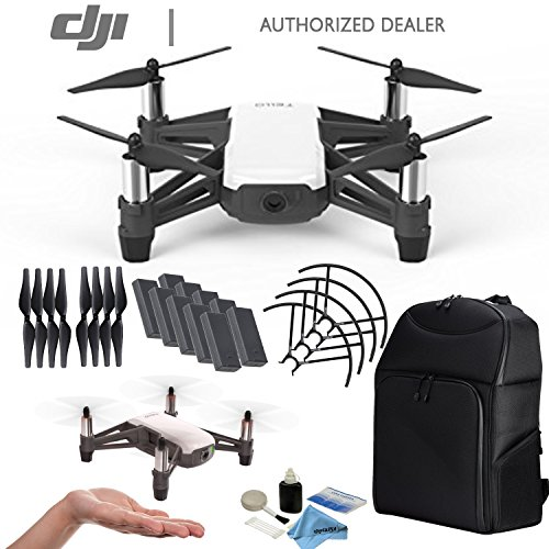 DJI Tello Quadcopter Drone 10 Pack Battery Kit, Powered by DJI