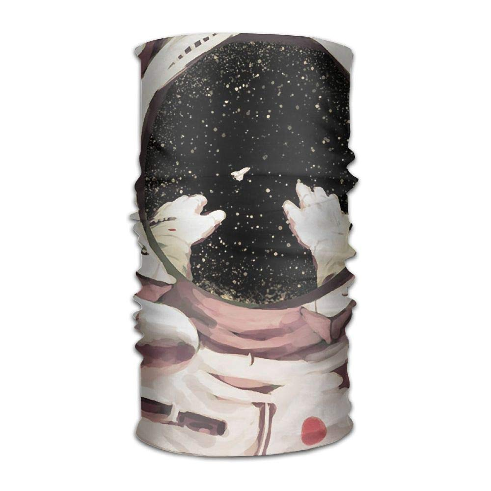 Headwear Science Fiction Sweatband Elastic Turban Sport Headband Outdoor Head Wrap