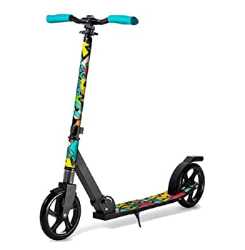 Lascoota Big Wheels Scooter for Kids