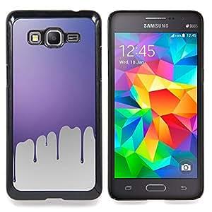 TikTakTok Funda Carcasa protectora para Samsung Galaxy Grand Prime G530H / DS - Goteo de pintura rosa